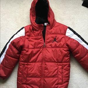 Size small Jordan jacket red